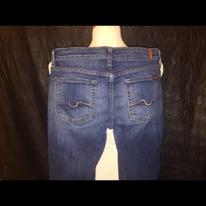 7 For All Man Kind Jeans Women's 28x32